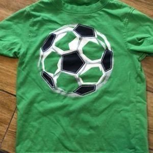 Gymboree green size 6 short sleeved tee shirt